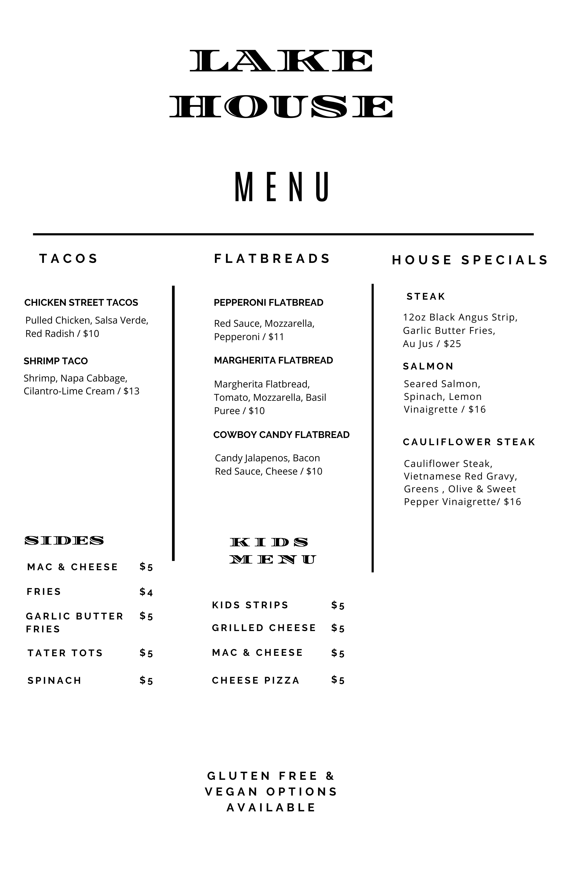 online menu 2